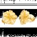 Bông tai cưới PNJ Hoa Tình Yêu Vàng 24K