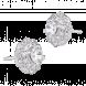 Bông tai bạc PNJSilver đính đá