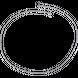 Dây chuyền bạc PNJSilver dây tay lật đơn 0000K060028