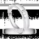 Nhẫn cặp bạc PNJSilver đính đá
