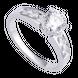 Nhẫn bạc đính đá PNJSilver XMXMK000043