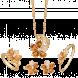 Bộ trang sức PNJ Sắc xuân vàng 18K đính đá Citrine
