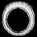 Nhẫn PNJ Vàng trắng 10K đính đá ECZ