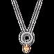 Dây cổ bạc đính đá PNJSilver Friendzone Breaker hình trái tim XMXMH000010