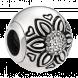 Hạt charm DIY PNJSilver hình tròn đinh hạt