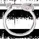 Nhẫn bạc hình trái tim PNJSilver Friendzone Breaker đính đá