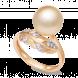 Nhẫn PNJ vàng 18K đính ngọc trai South Sea