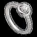 Nhẫn Kim Cương PNJ First Diamond Vàng trắng 14K