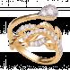 Nhẫn PNJ Phượng Hoàng Vàng 10K đính đá ECZ