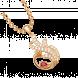 Mặt dây chuyền PNJ Phượng Hoàng Vàng 18K đính đá Ruby
