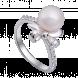 Nhẫn PNJ Vàng trắng 14K đính ngọc trai Freshwater 81716.602