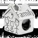Hạt Charm DIY PNJSilver hình ngôi nhà