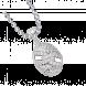 Mặt dây chuyền PNJ Vàng trắng Ý 18K đính đá CZ 88699.100