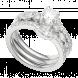 Nhẫn bạc PNJSilver Wanderlust đính đá 91486.100