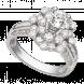 Nhẫn Kim cương PNJ Vàng trắng 14K 90272.5A2