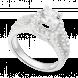 Nhẫn bạc PNJSilver Wanderlust đính đá 91472.100