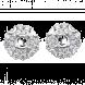 Vỏ bông tai Kim cương PNJ Vàng trắng 18K 86119.500