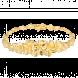 Lắc tay cưới PNJ Hoa Tình Yêu Vàng 24K 60698.014