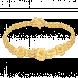 Lắc tay cưới PNJ Sắc Hoa Xuân vàng 24K
