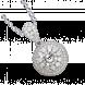 Vỏ mặt dây chuyền Kim cương PNJ Vàng trắng 18K 91147.5A0
