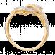 Nhẫn PNJ Vàng Phượng Hoàng 10K đính đá ECZ