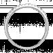 Nhẫn Kim Cương PNJ Vàng trắng 14K 69929.5A0