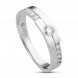 Nhẫn cưới Kim cương PNJ Chung Đôi Vàng trắng 14K 76532.500