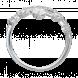 Nhẫn Vàng trắng 10K đính đá ECZ Swarovski PNJ XMXMW000176