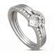 Nhẫn PNJ Galaxy Vàng trắng 10K đính đá ECZ 87507.100