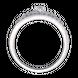 Nhẫn Vàng trắng 10K đính đá ECZ Swarovski PNJ XMXMW000175