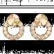 Bông Tai PNJ Vàng 18k đính đá CZ 74262.102