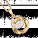 Mặt Dây Chuyền PNJ Vàng 18K đính đá CZMặt Dây Chuyền PNJ Vàng 18K đính đá CZ 76321.102