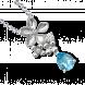 Mặt dây chuyền PNJ Vàng trắng 14K đính đá Topaz 89921.600