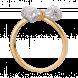 Nhẫn PNJ Vàng 10K đính đá ECZ