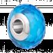 Hạt charm DIY PNJSilver hình dẹt tròn màu xanh 13930.000