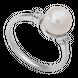 Nhẫn bạc PNJSilver đính ngọc trai