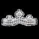 Nhẫn bạc hình vương miện PNJSilver My Princess đính đá 13595.100