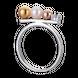 Nhẫn bạc PNJSilver Her Time đính ngọc trai 13310.200