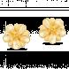 Bông tai cưới PNJ Hoa Tình Yêu Vàng 24K 60699.014