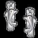 Bông tai trẻ em bạc PNJSilver hình cá heo 0000K000066