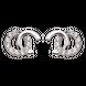 Bông tai bạc đính đá PNJSilver XM00K000141
