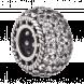 Hạt charm DIY PNJSilver hình tròn đính hạt