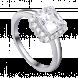 Nhẫn bạc PNJSilver đính đá 14175.100