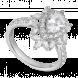 Nhẫn bạc PNJSilver Wanderlust đính đá 91496.100