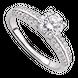 Nhẫn bạc đính đá PNJSilver XMXMK000144
