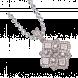 Mặt dây chuyền kim cương PNJ vàng trắng 18K