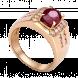 Nhẫn nam PNJ vàng 18K đính đá Ruby 79113.600