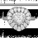 Nhẫn bạc PNJSilver Retro Forest đính đá 92376.100