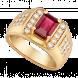 Nhẫn nam PNJ Vàng 18K đính đá Ruby 86953.600