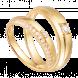 Nhẫn Cưới PNJ Vàng 18K đính đá ECZ Swarovski
